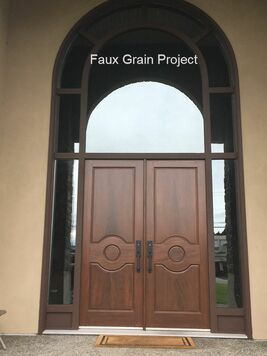 Faux grain project by Robert Ireland Studios
